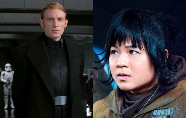 'Star Wars': Domhnall Gleeson Defends Kelly Marie Tran From Trolls