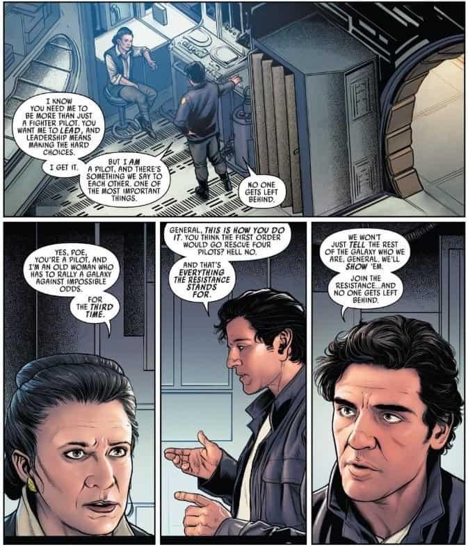 Star Wars Episode IX Poe Dameron Comic
