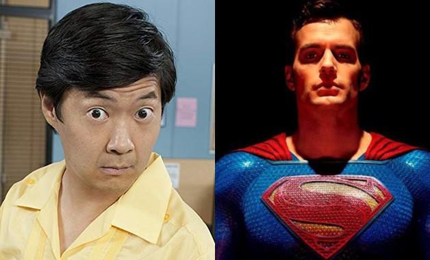 Superman Henry Cavill Ken Jeong DC Comics