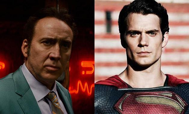 Superman Henry Cavill Nicolas Cage DC Comics