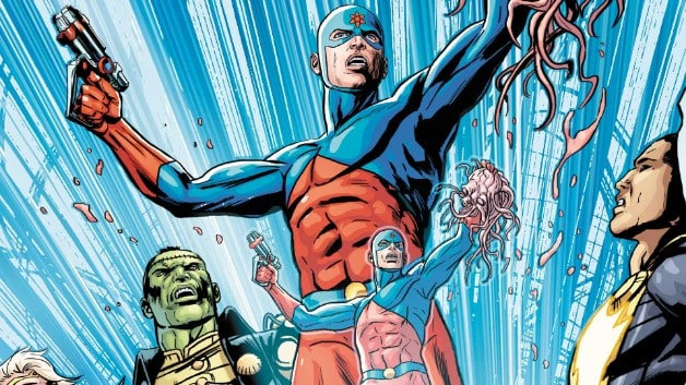 The Atom DC Comics Justice League
