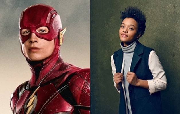 The Flash Justice League Kiersey Clemons