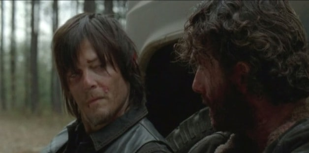 The Walking Dead Rick Daryl Dixon Norman Reedus Andrew Lincoln