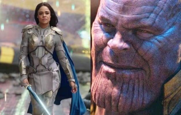 Valkyrie Tessa Thompson Avengers Infinity War