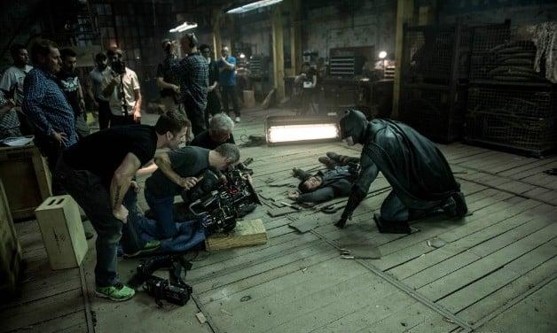 Batman v Superman Warehouse Scene BTS