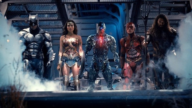 justice league Ben Affleck Ray Fisher