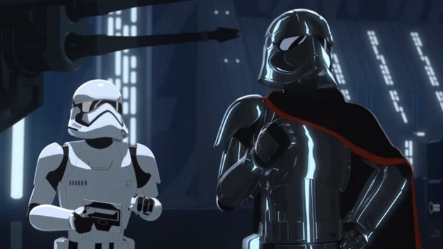 Star Wars Resistance Captain Phasma