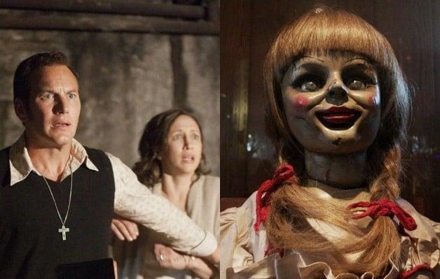 Annabelle 3 The Conjuring Patrick Wilson Vera Farmiga