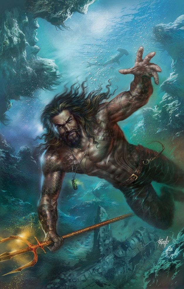 Aquaman DC Comics Arthur Curry Mera