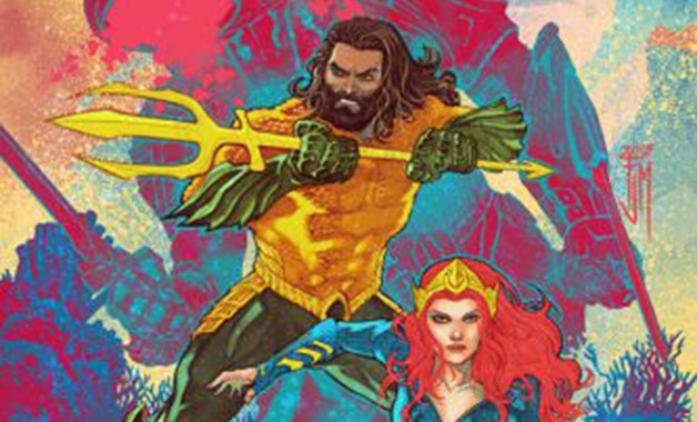 Aquaman Justice League DC Comics