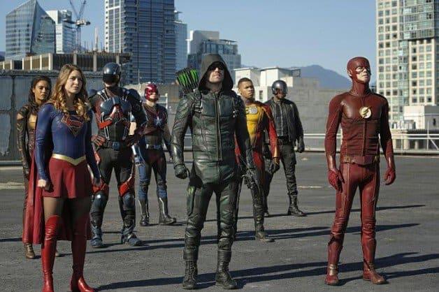 Stephen Amell Batman Green Lantern Arrowverse Arrow