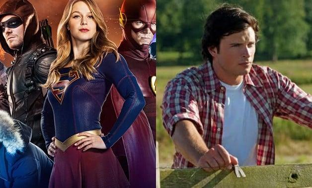 Arrowverse Elseworlds Smallville CW DC Comics