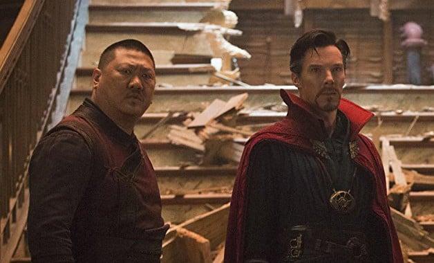 Avengers Infinity War Doctor Strange Benedict Wong Benedict Cumberbatch