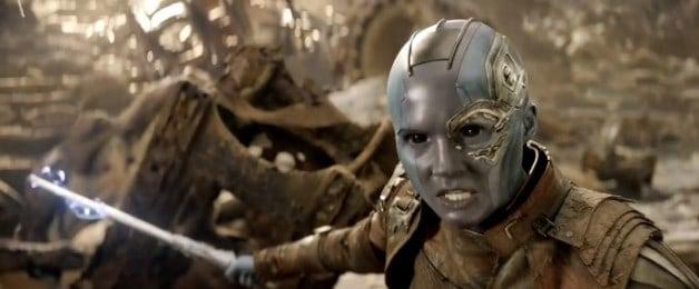 Avengers 4 Infinity War Karen Gillan Nebula Marvel