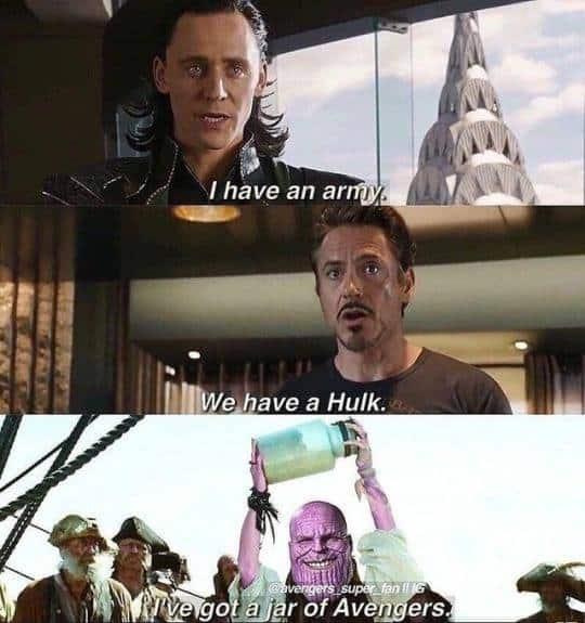 Avengers Infinity War Meme Robert Downey Jr Marvel Studios