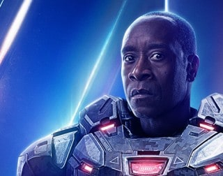 Avengers 4 Don Cheadle Marvel Studios War Machine Endgame LeBron James Space Jam
