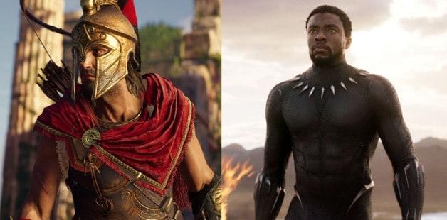 Black Panther Assassins Creed Marvel