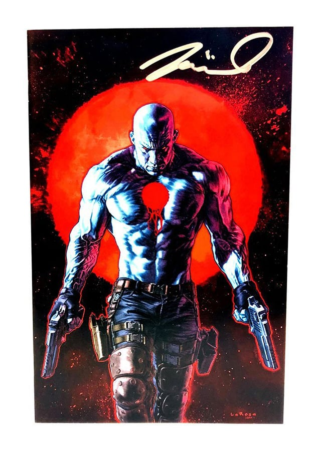 Bloodshot Vin Diesel Valiant Comics