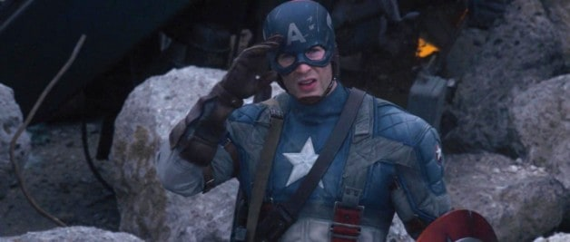 Chris Evans Captain America Avengers 4