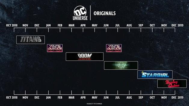 DC Universe Calendar