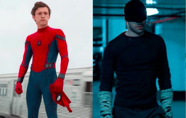 Daredevil Spider-Man Charlie Cox Tom Holland