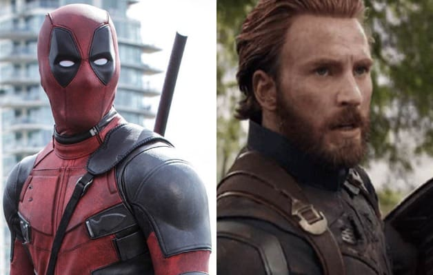 Deadpool Ryan Reynolds Captain America Chris Evans