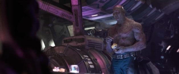 Drax Avengers Infinity War Marvel Dave Bautista