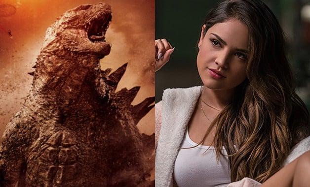 Godzilla vs King Kong Eiza González Legendar