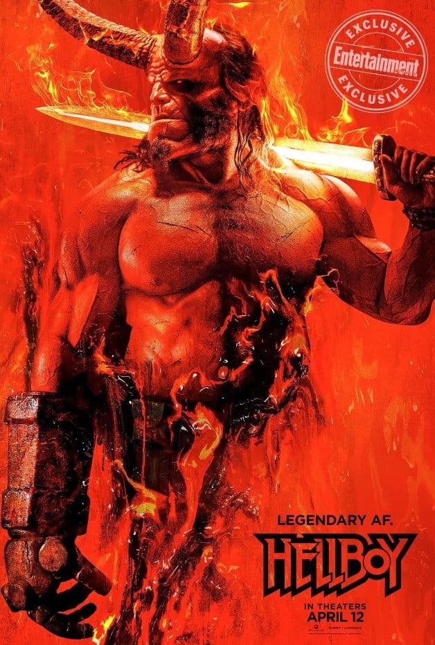 Hellboy Poster David Harbour