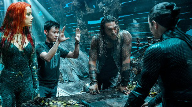 James Wan Aquaman Jason Momoa Amber Heard