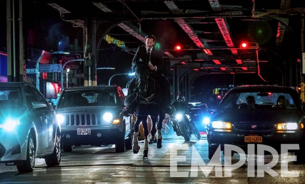 John Wick 3 Parabellum Keanu Reeves Horse