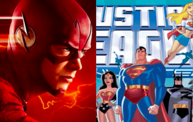 Justice League The Flash The CW