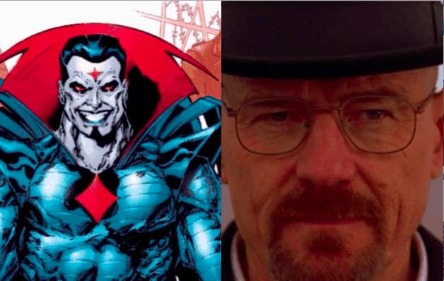Marvel Mister Sinister X-Men Bryan Cranston