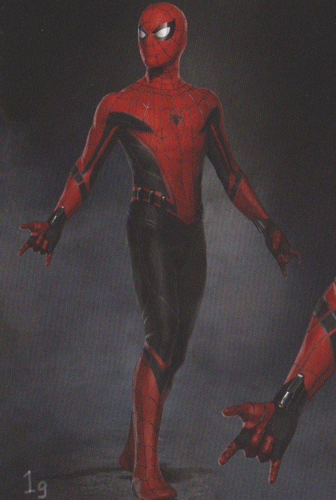 Spider-Man Homecoming Red and Black Concept Suit