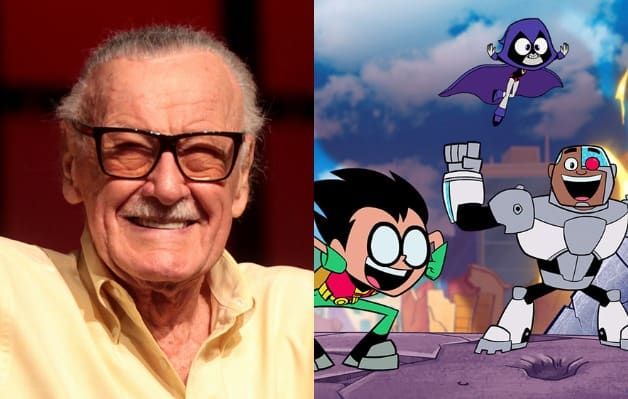 Stan Lee Teen Titans Go To The Movies