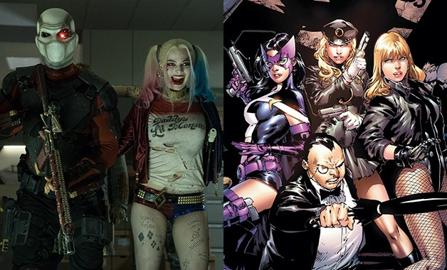 Suicide Squad Birds of Prey DC Comics