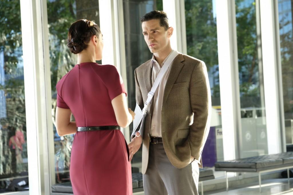 Supergirl Sam Witwer Agent Liberty Lena Luthor CW
