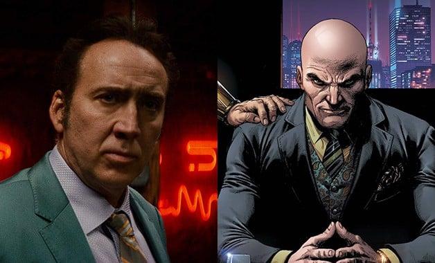 Superman Lex Luthor Nicolas Cage