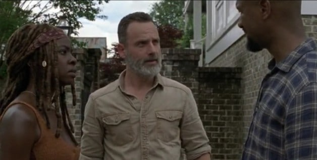 The Walking Dead Rick Grimes Michonne Andrew Lincoln
