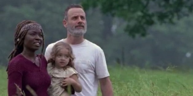 The Walking Dead Season 9 AMC Rick Michonne Judith