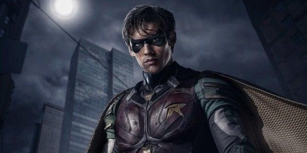 Titans Robin Netflix Dick Grayson Nightwing Geoff Johns