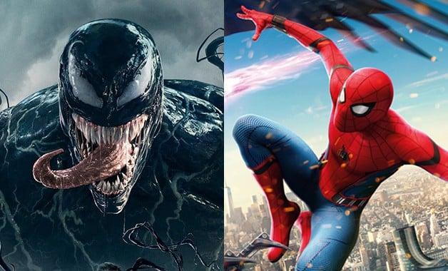 Homem-Aranha Veneno Sony Marvel Tom Holland Tom Hardy