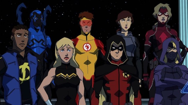 Young Justice Outsiders Team DC Universe