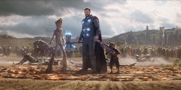 Avengers 4 Disney Marvel Thor Rocket Groot