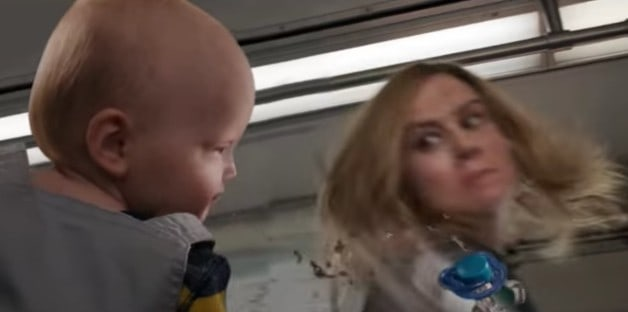 Captain Marvel Punches A Baby In Weird Trailer Parody