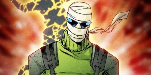 Doom Patrol Negative Man Matt Boomer