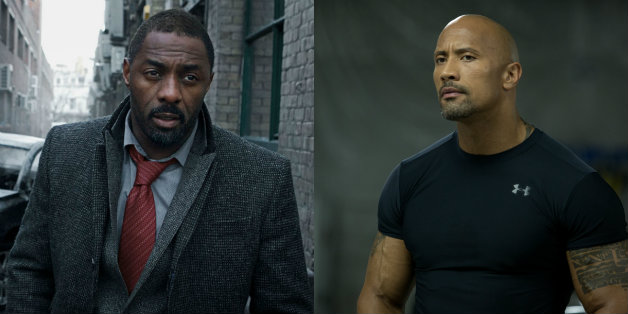 Idris Elba Fast Furious Dwayne Johnson Hobbs Shaw Hobbs & Shaw