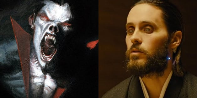 Jared Leto Morbius Ghostbusters Sony Spider-Man