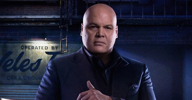 Daredevil Kingpin Vincent D'Onofrio Jessica Jones Punisher Thanos Avengers Infinity War Endgame