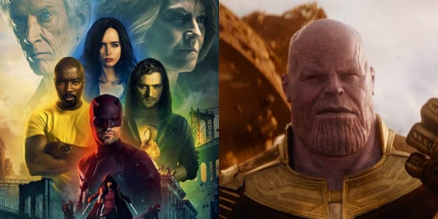 Marvel Netflix Defenders Daredevil Thanos
